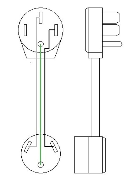 50 30ampDogbone electrical adapters wiring diagram for 50 amp marine plug in at fashall.co