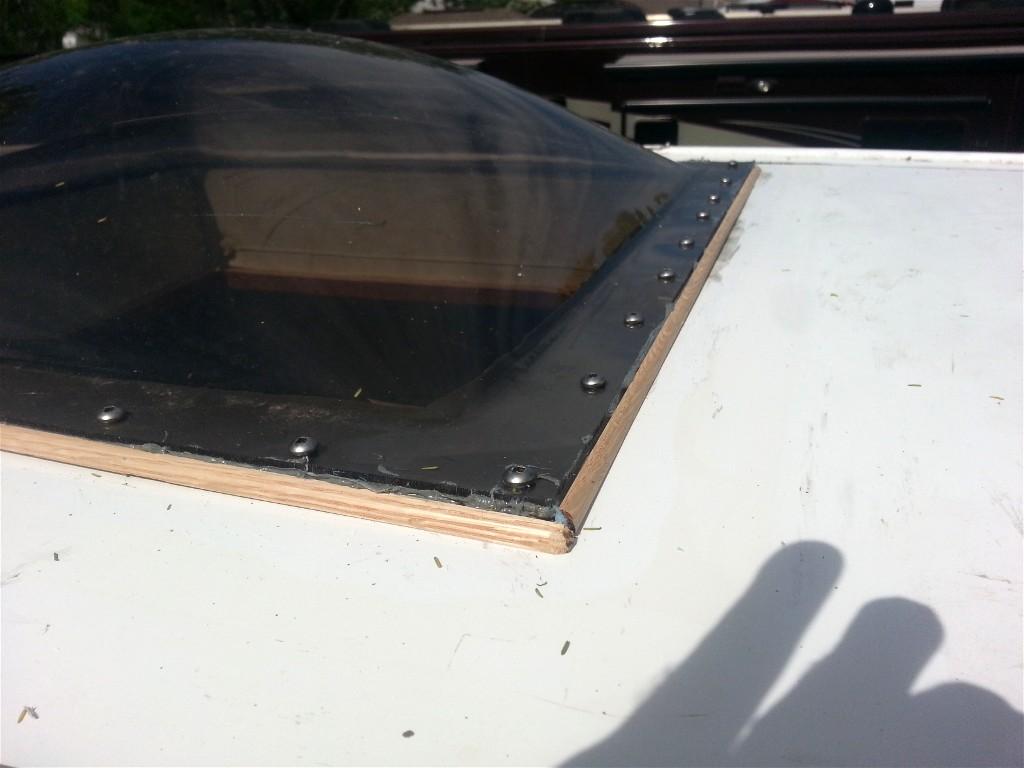 Rvtech Repairs Skylight Replace