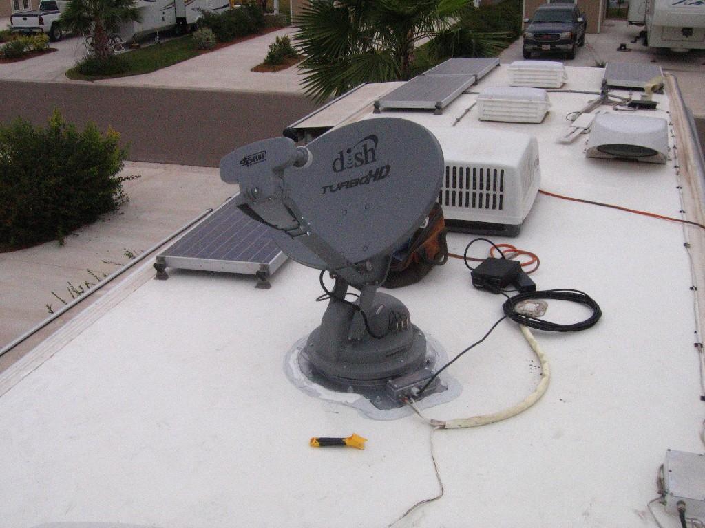 Tige Auto Satellite Dish Ts Option