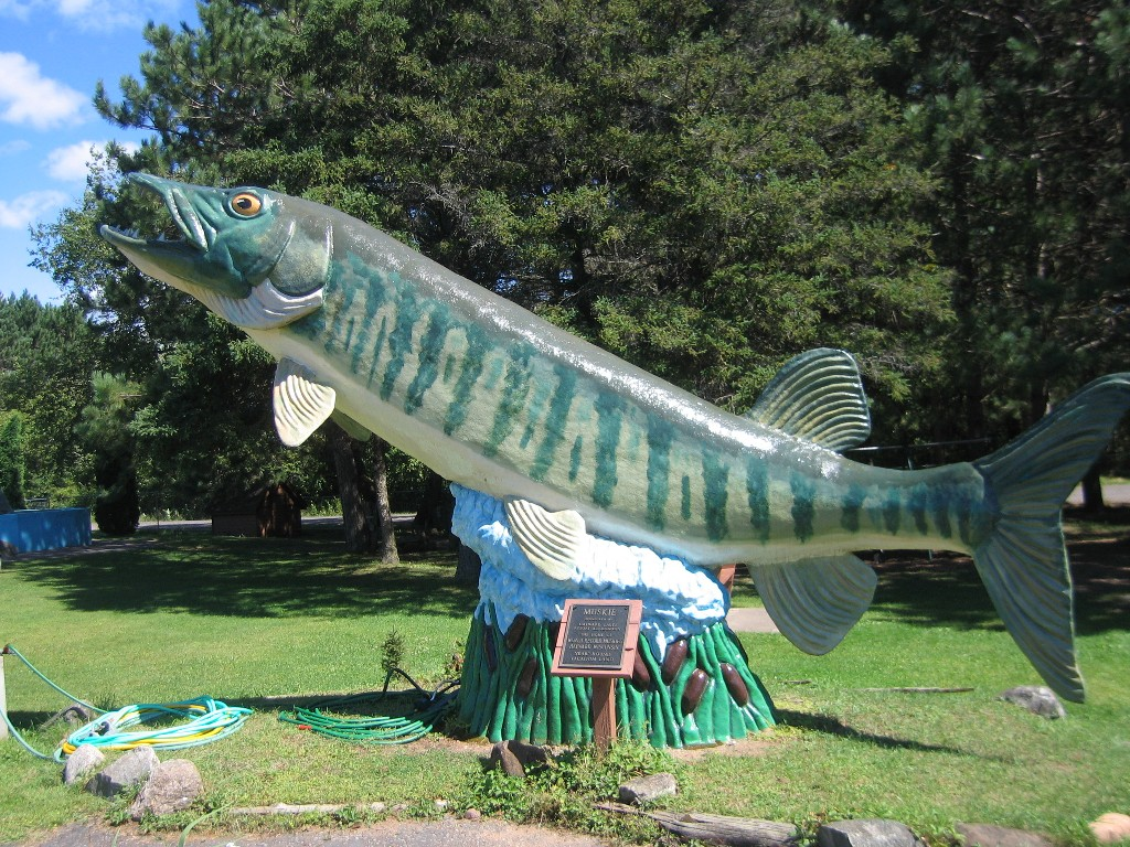 Wawn fishing museum for Freshwater fishing hall of fame